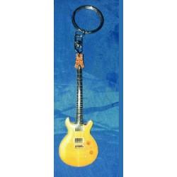Santana Stainless Steel 10cm Guitar Key Ring