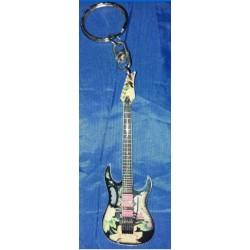 Stevie Vai Stainless Steel 10cm Guitar Key Ring