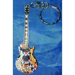 Zakk Wylde Stainless Steel 10cm Guitar Key Ring