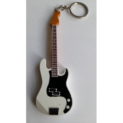 Paul Weller Nobody 10cm Wooden Tribute Guitar Key Chain