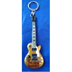 Dead Daisies 10cm Wooden Tribute Guitar Key Chain