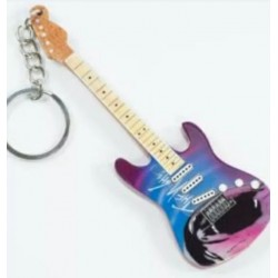 Pink Floyd The Wall 10cm Wooden Guitar Tribute Key Chain
