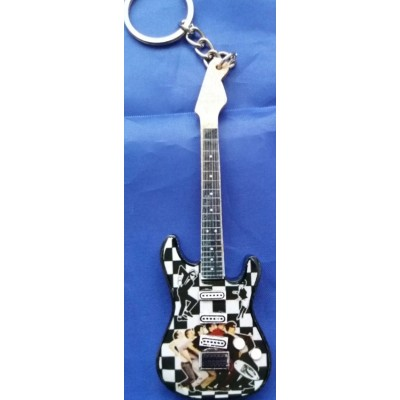 Madness Wooden Tribute Guitar Key Chain