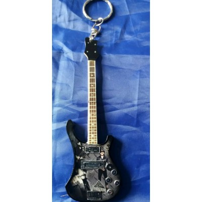 Motorhead 10cm Wooden Tribute Guitar Key Chain