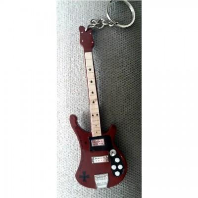 Motorhead Born To Lose 10cm Wooden Tribute Guitar Key Chain