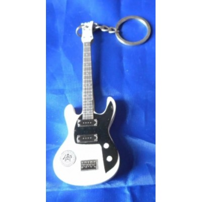 Ramones 10cm Wooden Tribute Guitar Key Chain