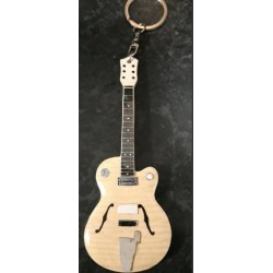 Brian Setzer 10cm Wooden Tribute Guitar Key Chain