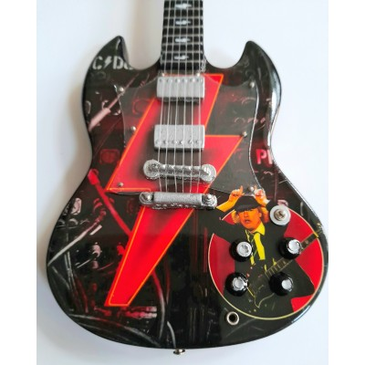 AC/DC Power Up Tribute Miniature Guitar Exclusive