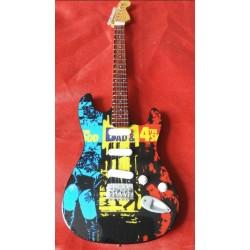 4 Skins Tribute Miniature Guitar Exclusive