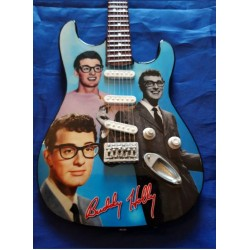 Buddy Holly Tribute Miniature Guitar Exclusive