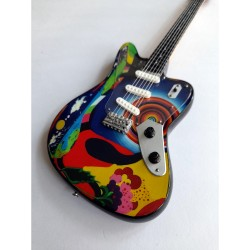 Cream Jack Bruce Tribute Miniature Guitar Exclusive