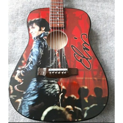 Elvis 68 Comeback Tribute Miniature Guitar Exclusive