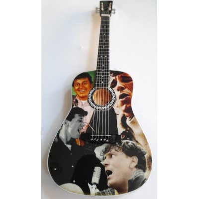 Gene Vincent Tribute Miniature Guitar Exclusive