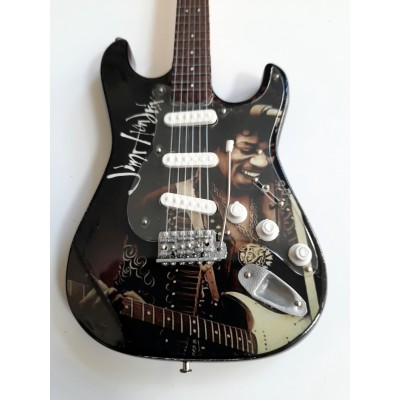 Jimi Hendrix 3 Tribute Miniature Guitar Exclusive