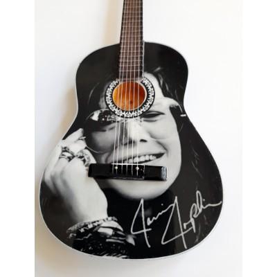 Janis Joplin Tribute Miniature Guitar Exclusive