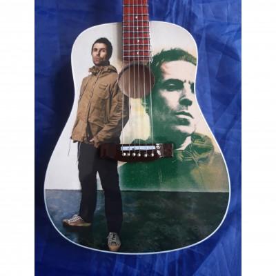 Liam Gallagher Tribute Miniature Guitar Exclusive