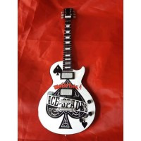 Motorhead Ace Of Spades Tribute Miniature Guitar Exclusive