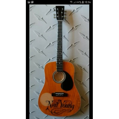 Neil Young Tribute Miniature Guitar Exclusive