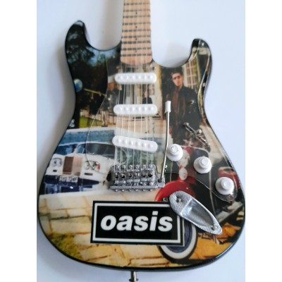 Oasis Be Here Now Tribute Miniature Guitar Exclusive