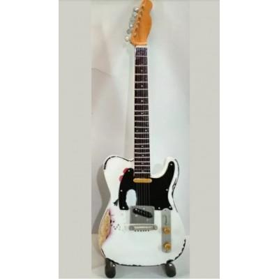 Rick Parfitt Status Quo Tribute Miniature Guitar Exclusive