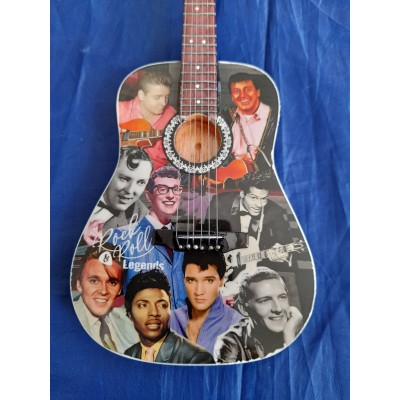 Rock & Roll Legends Tribute Miniature Guitar Exclusive