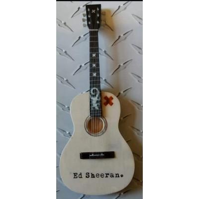 Ed Sheeran Tribute Miniature Guitar Exclusive