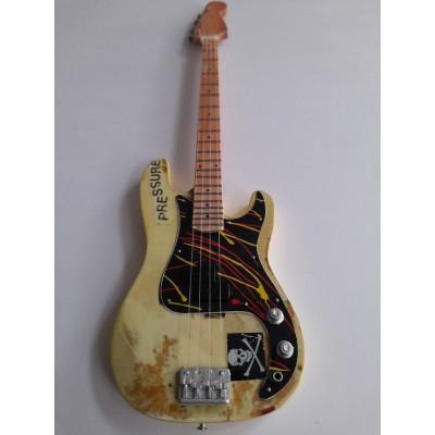 The Clash Paul Simonon Tribute Miniature Bass Guitar Exclusive