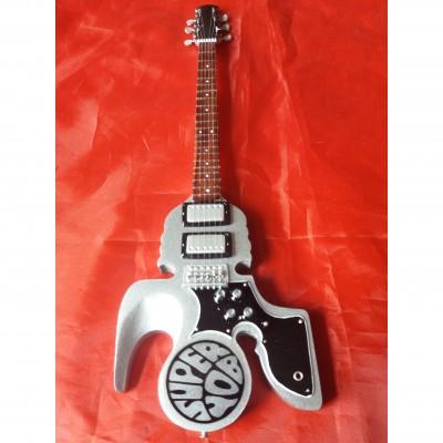 Slade Silver Superyob Tribute Miniature Guitar Exclusive
