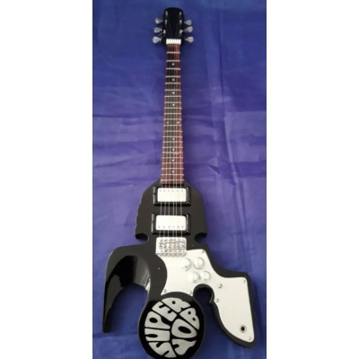 Slade Superyob Black Tribute Miniature Guitar Exclusive