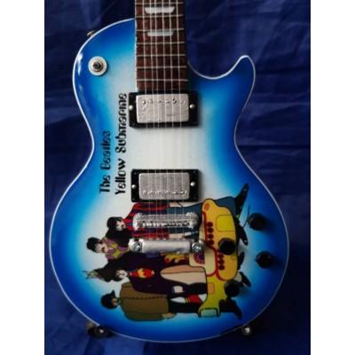 The Beatles Yellow Submarine Tribute Miniature Guitar Exclusive