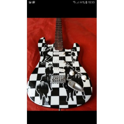 The Specials Tribute Miniature Guitar Exclusive