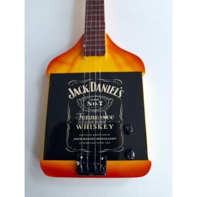 Van Halen Michael Anthony Jack Daniels Tribute Miniature Guitar Exclusive