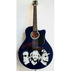 Bee Gees Tribute Miniature Guitar