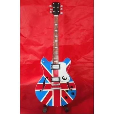 Oasis Noel Gallagher Supernova Tribute Miniature Guitar