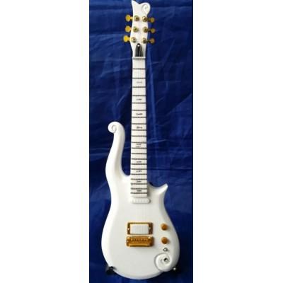 Prince White Cloud Tribute Miniature Guitar