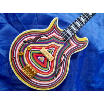 Stone Rose's Mani Tribute Miniature Bass Guitar