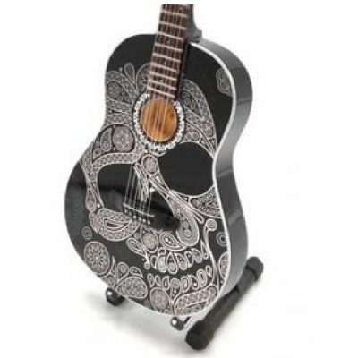 Candy Skull Tribute Miniature Guitar Exclusive