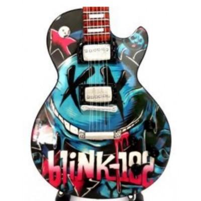 Blink 182 Tribute Miniature Guitar