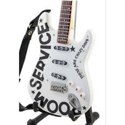 Bryan Adams Tribute Miniature Guitar