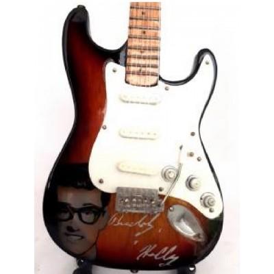 Buddy Holly Signature Tribute Miniature Guitar