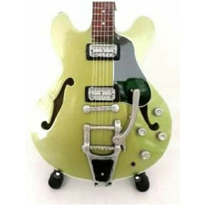Soundgarden Chris Cornell Tribute Miniature Guitar