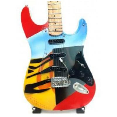 Eric Clapton Crash 3 Tribute Miniature Guitar
