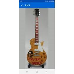 Dead Daisies Tribute Miniature Guitar