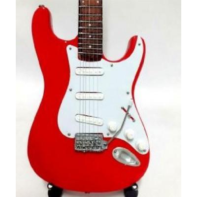 Dire Straits Tribute Miniature Guitar