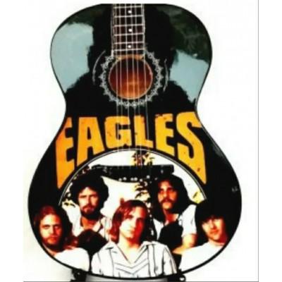 Eagles Tribute Miniature Guitar