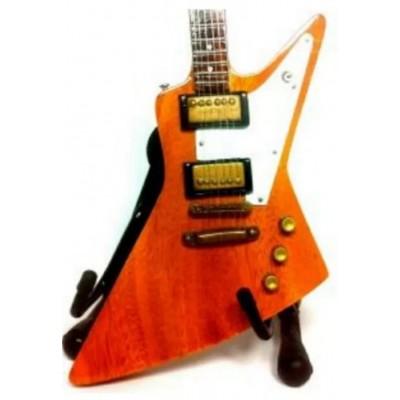 U2 The Edge Tribute Miniature Guitar