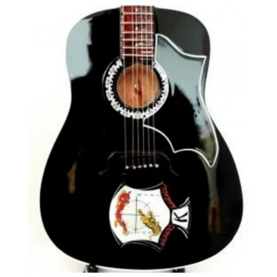 Elvis Kempa Karate Tribute Miniature Guitar