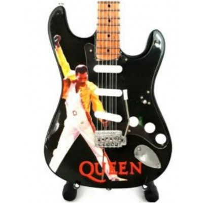 Freddie Mercury Tribute Miniature Guitar