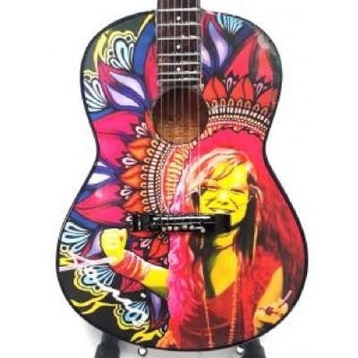 Janis Joplin Tribute Miniature Guitar