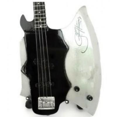 Kiss Axe Tribute Miniature Guitar